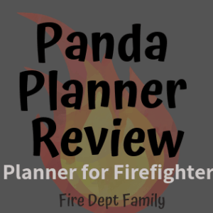 panda planner review firefighters