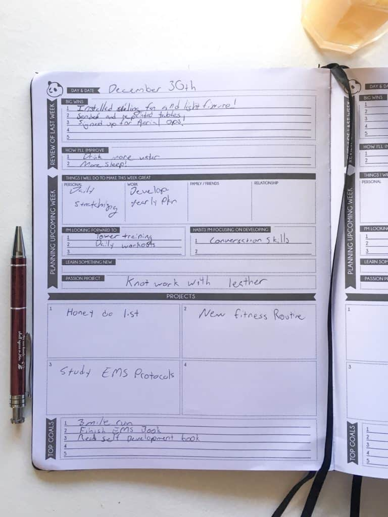 Panda Planner Review: A Planner for Firefighters? - Fire