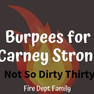 Burpees for Carney Strong